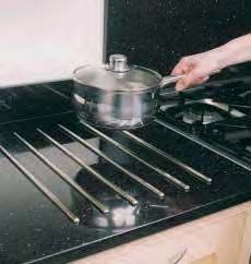 Worktop Pan Rods